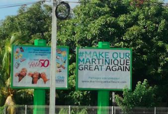 Martinique : l'éléphantillais se Trump énormément