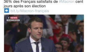 (Breaking) Macron : plus impopulaire que Trump (on ne vous le dira pas partout)