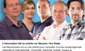 L'information fait sa rentrée sur Réunion 1ère radio