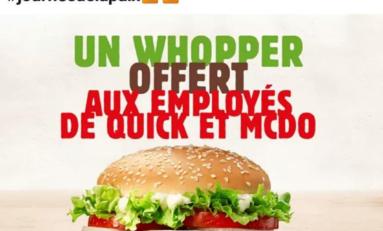 Île de La Réunion : my name is Colbert...Call Burger King
