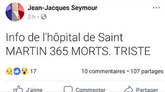 Irma / Saint Martin : entre entre 4 et 350 morts ?