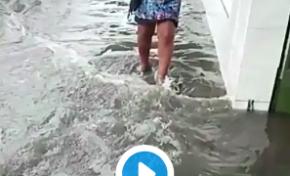 Martinique : Fort-de-France sous les eaux et trempée jusqu'aux os