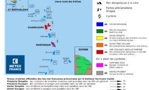 Maria Cyclone : la Martinique est violette