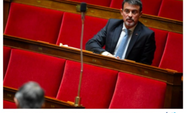 Manuel Valls...une photo de légende qui fera date