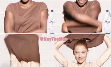 Cette publicité DOVE est raciste et nous...le savon
