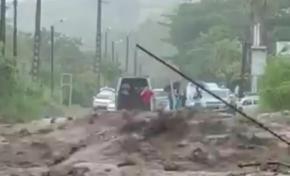 Mauvais temps sur la Martinique