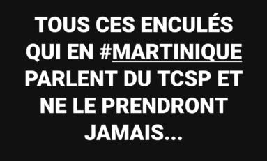 La phrase du jour 11/01/17- TCSP- Martinique
