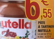 Le député Serge Letchimy découvre de l'or dans un pot de Nutella vendu en Martinique