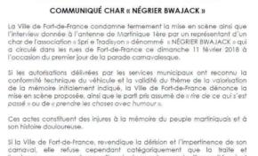 Fort-de-France  : LOL métis à son propre carnaval