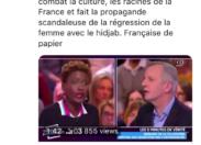 Nadine Morano traite Rokhaya Diallo de...FRANÇAISE DE PAPIER