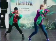 Wakanda Dance in Russia