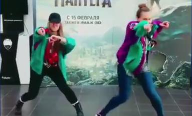 Wakanda Dance in Russia