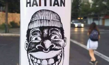"Santiago du Chili : ""Haitian not welcome"""