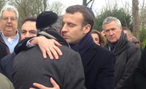 L'image du jour 29/03/18 - Macron -Kippa- Knoll