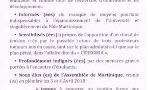 Université des Antilles : Ensemble Pour une Maçonnerie Nouvelle (EPMN)