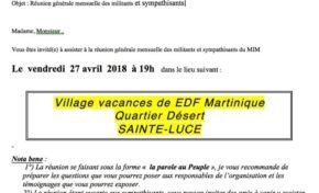Martinique : Alfred Marie-Jeanne défie Jean-Philippe Nilor sur les terres de Nicaise Monrose
