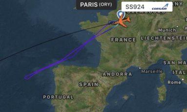 Le vol CORSAIR SS924 ORY-FDF entre Paris et la Martinique  fait demi-tour  pour «problème technique»