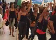 Ce jour 15h à Carrefour Génipa en Martinique...