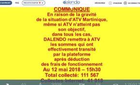 La cagnotte ATV : Dalendo change les règles du jeu... si t'as donné tu l'as dalendo...