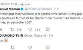 Le tweet du jour 09/06/18 - Macron- Ivee Diamond - Dialogue social