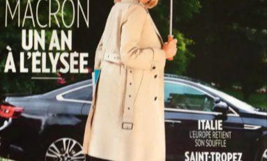 Brigitte Macron...l'étonnante une de Paris Match