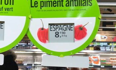 Image du jour 26/06/18 - France - Piment antillais -