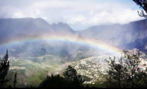 L'image du jour 21/07/18 Île de La Réunion- Cilaos - Arc-en-ciel - Rainbow-