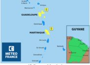 La Martinique, la Guadeloupe et Saint-Martin en vigilance Jaune / Cyclone...
