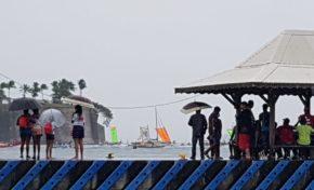Tour de la Martinique des yoles rondes : mapipi anba lapli
