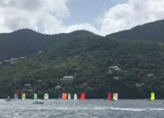 Tour de Martinique des yoles rondes 2018 : temps pi pour le sud