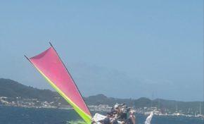 L'image du jour 03/08/18 - Tour de la Martinique des yoles rondes - SMEM Ti Boug Énergie