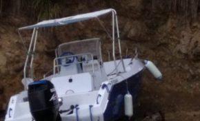 Tour de la Martinique des yoles rondes : quatrième accident  d'un bateau moteur