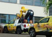 L'image du jour 26/08/18 - Tour cycliste de la Guyane