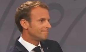 Emmanuel Macron dans l'oeil du cyclone en Martinique