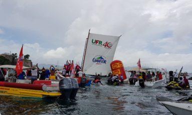 Tour de Martinique des Yoles Rondes 2018 : Et de 3 pour UFR/Chanflor à Fort-de-France et de 10 pour Félix Mérine
