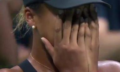 """Naomi Osaka : """"la lame d'une larme est l'arme de l'âme"""""""