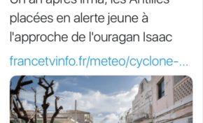 Isaac : France Info invente l'alerte jeune