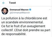 La phrase du jour 27/09/18 - Macron - Martinique - Chlordécone