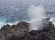 Images de l'île de La Réunion – Souffleur à Saint-Leu  (photos / vidéo)
