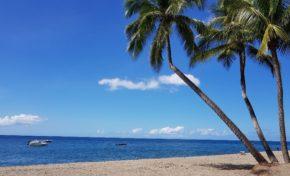 Images de la Martinique - La plage du Carbet