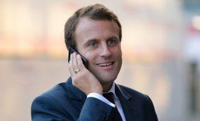 Si vous pouviez avoir Emmanuel Macron au 📞 vous lui diriez...