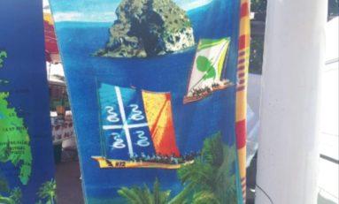 La Martinique entre drap de bain...drapeau...et manque de peau