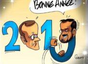 L'image du jour 01/01/19 Bonne  année 2019 - Macron/Benalla