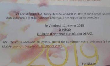 Saint-Pierre en Martinique...dlo Depaz et farine
