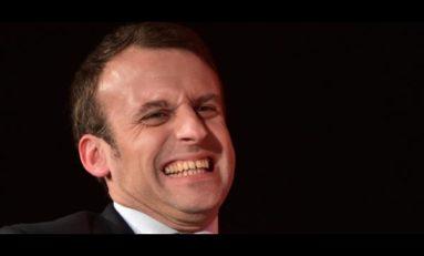 Macron sur Twitter : fok fuck fake !