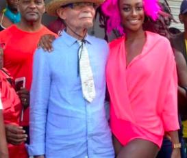 Carnaval 2019 en Martinique : Alfred Marie-Jeanne en mode Romanticus qui ne vanus cocus