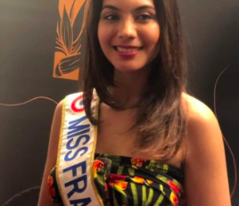 Vaimalama Chaves Miss France 2019 en visite en Martinique
