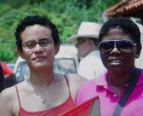 L'image d'un jour - Martinique - Drapeau Rouge Vert Noir