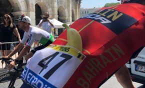 Tour de France cycliste 2019 : la banane de Guadeloupe et de Martinique...l'autre maillot jaune