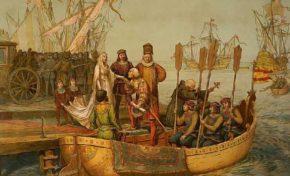 Ce jour, en 1492, un marin se perdait en mer et provoquait un génocide.